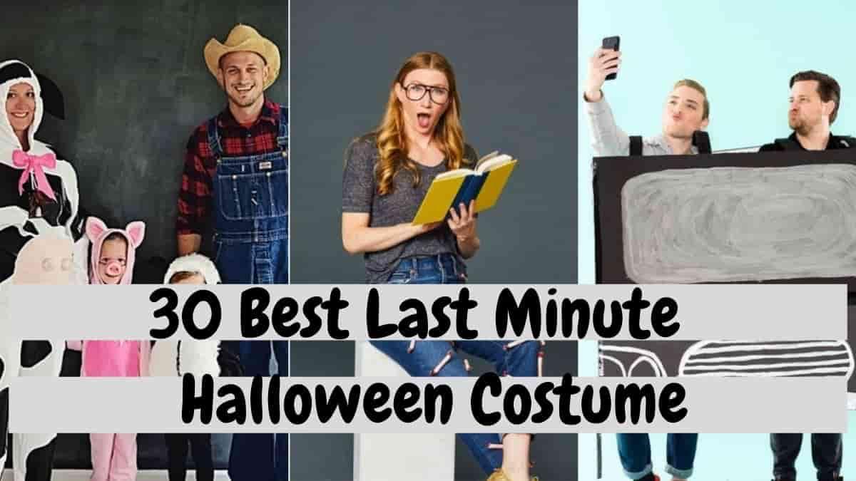 30 Best Last-Minute Halloween Costume Ideas in 2021
